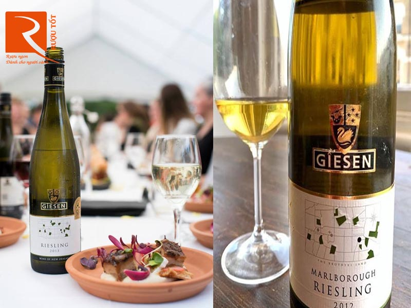 Rượu vang trắng New Zealand Giesen Marlborough Riesling