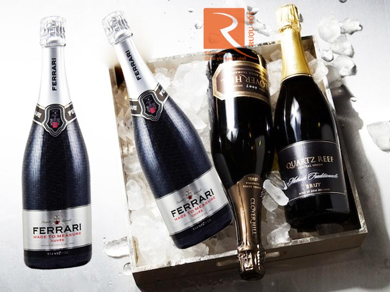 Rượu vang Sparkling Ferrari Made To Measure Cuvee Trento DOC