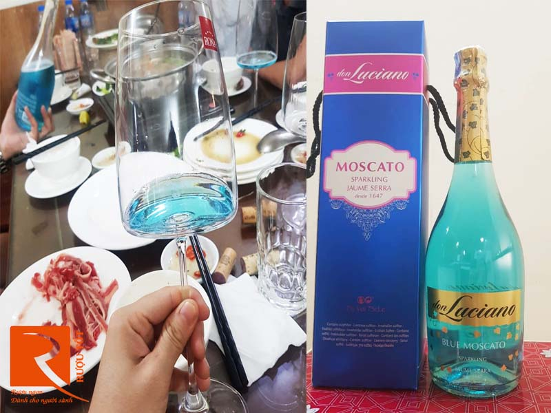 Vang nổ Don Luciano Blue Moscato