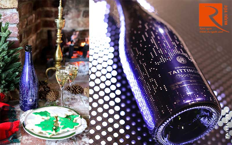 Rượu Vang Taittinger Nocturne Champagne City Lights
