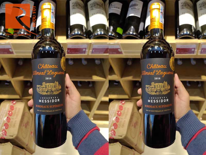 Rượu vang Pháp Chateau Floreal Laguens Reserve Messidor Red