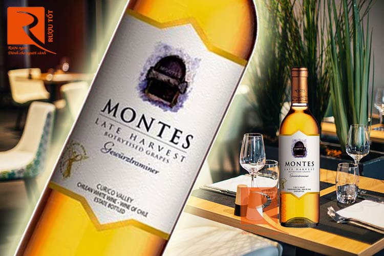 Vang Chile Montes Late Harvest Botrytised Grapes