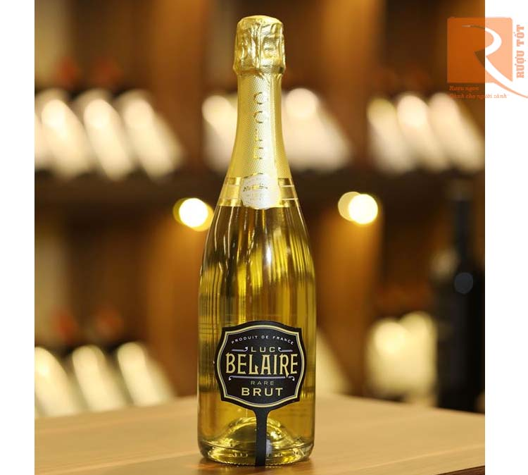 Rượu vang Luc Belaire Rare Luxe - Brut