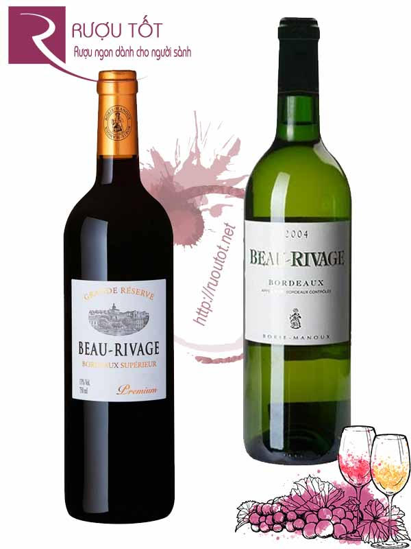 Vang Pháp Beau Rivage Bordeaux (red – white)
