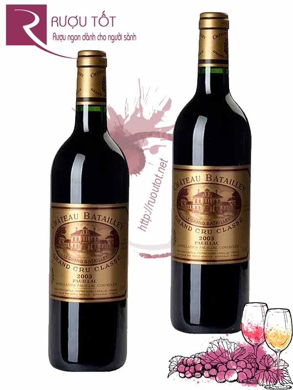 Rượu vang Pháp Chateau Batailley 5th Grand Cru Classe