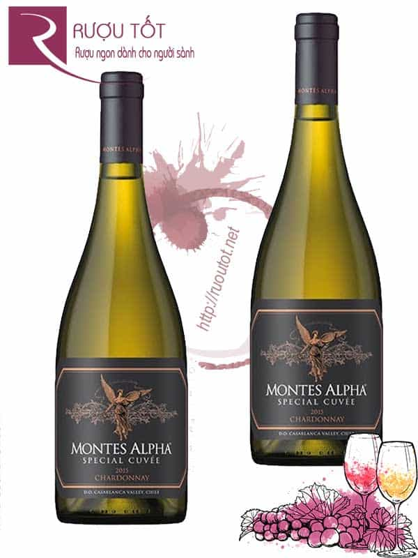 Vang Chile Montes Alpha Special Cuvee Chardonnay