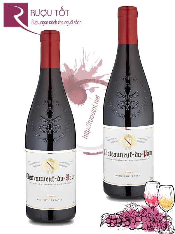 Vang Pháp Chateauneuf du pape Bourgogne
