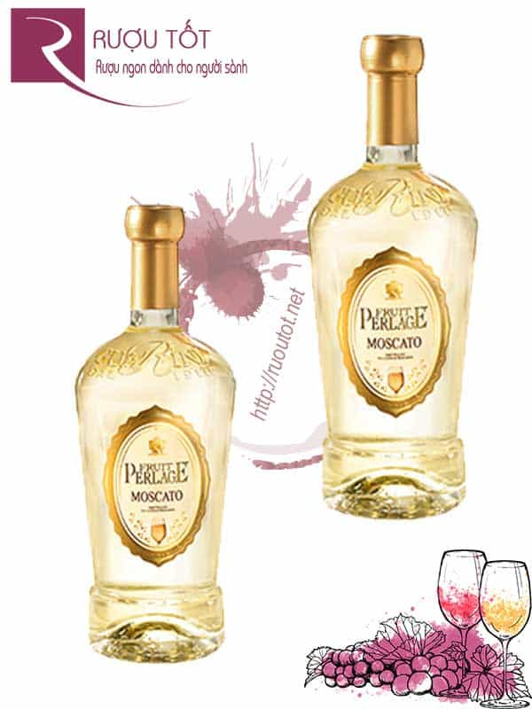 Vang Ý Moscato Dolce Fruit Perlage cao cấp