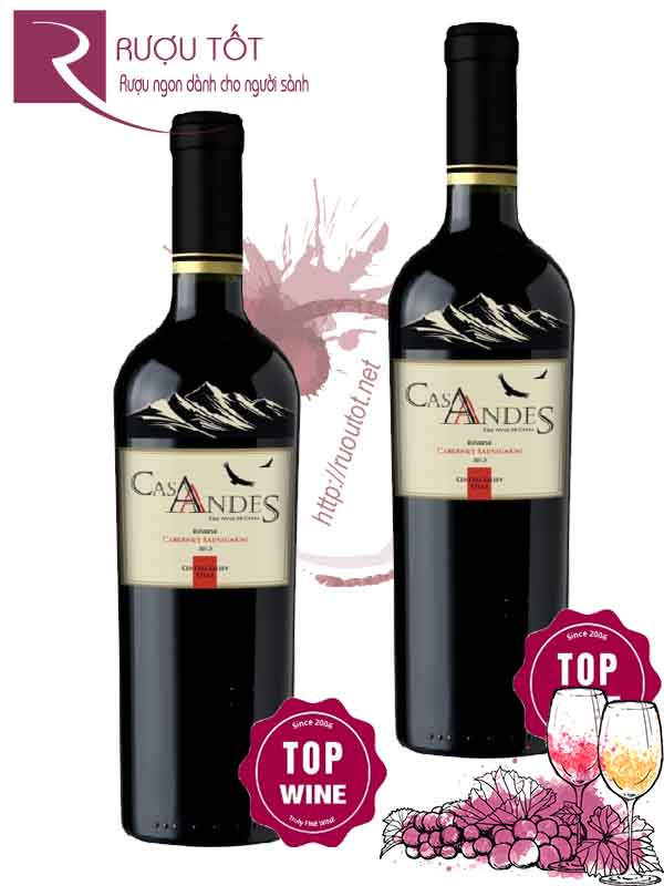 Vang Chile Cas Andes Reserve Carbernet Sauvignon