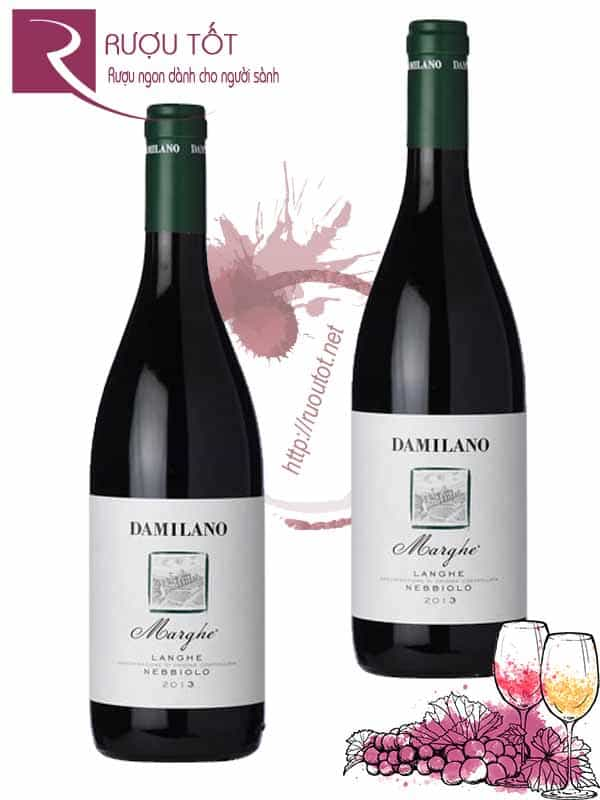 Vang Ý Damilano Langhe Nebbiolo Marghe