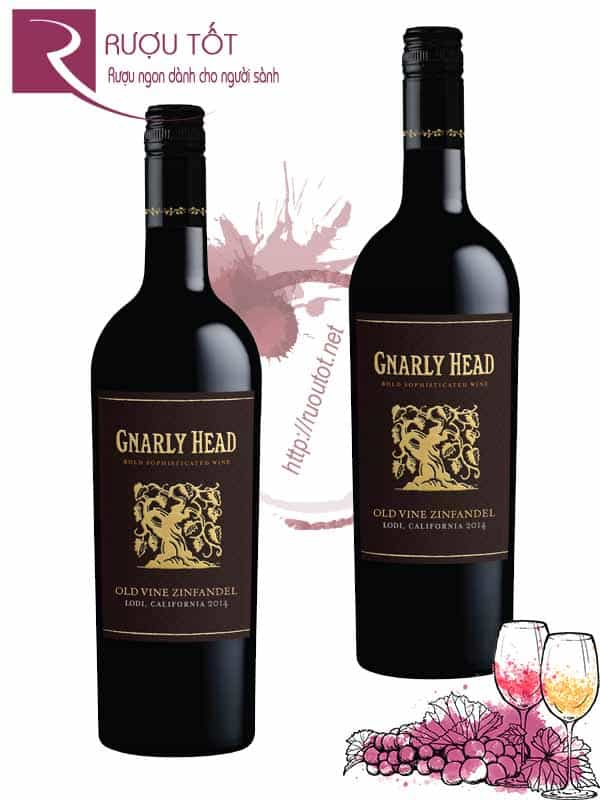 Rượu Vang Gnarly Head Old Vine Zinfandel