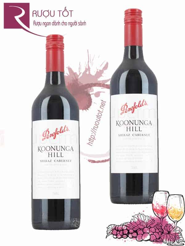 Vang Úc Penfolds Koonunga Hill 750/ 375ml