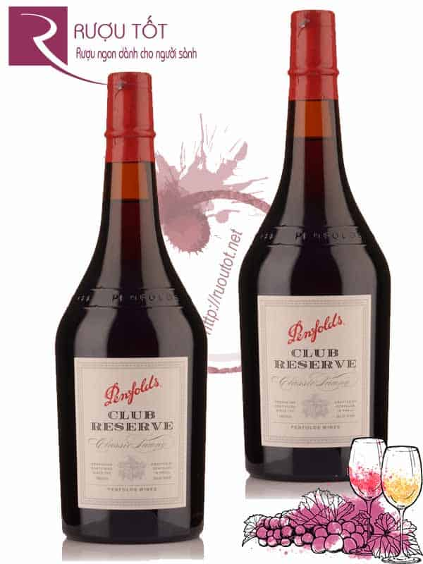 Vang Úc Penfolds Club Port Old Tawny