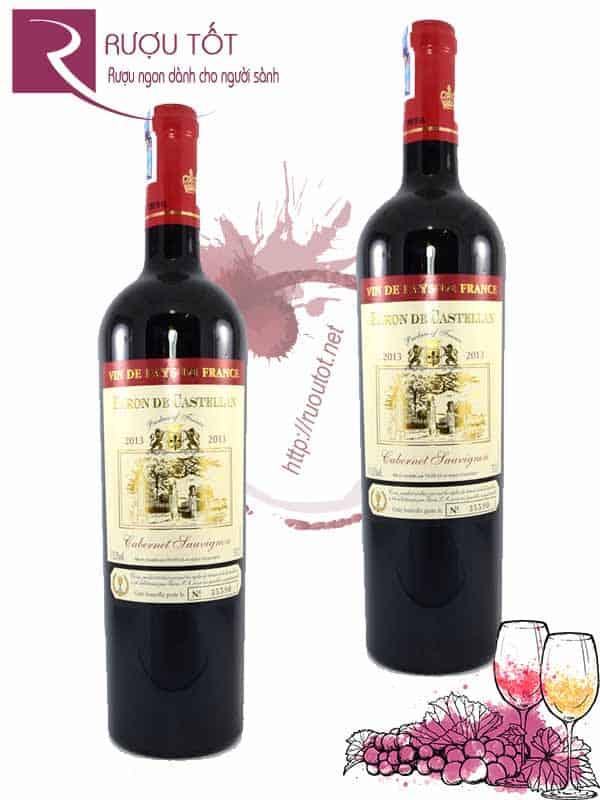 Rượu vang Pháp Baron de Castellan