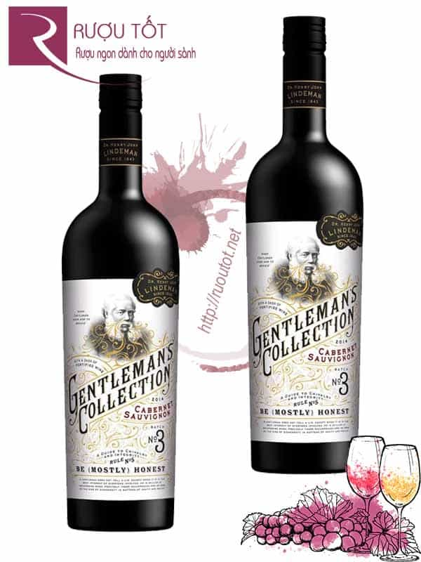 Rượu vang Gentlemans Collection Cabernet Sauvignon Batch No3 Cao cấp