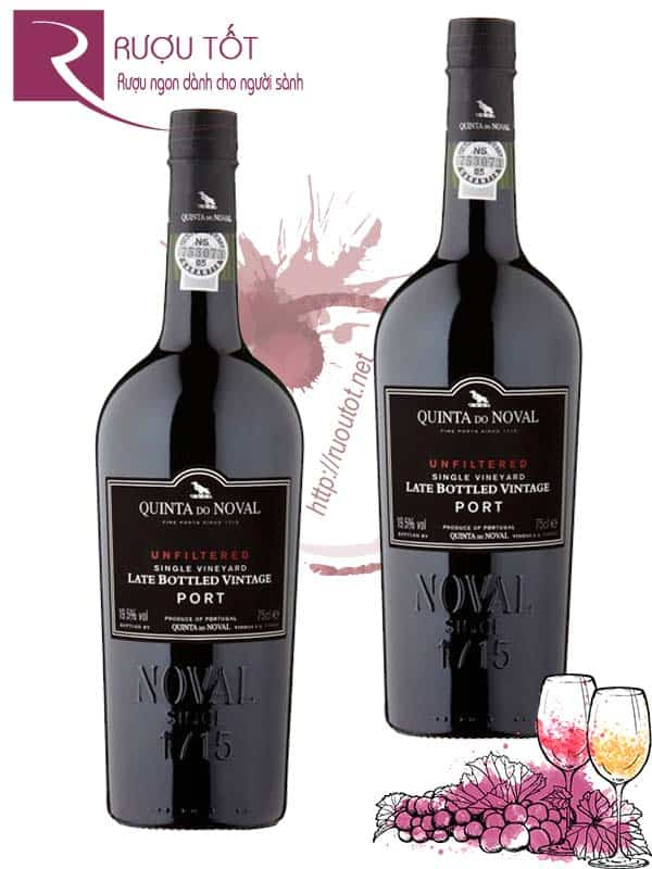 Vang BĐN Quinta do Noval LBV Late Bottled Vintage Port