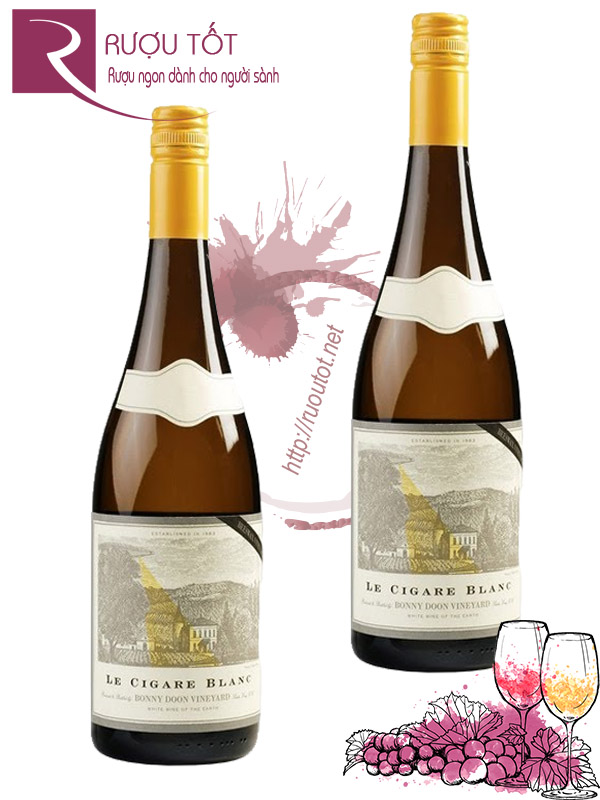 Vang Mỹ Bonny Doon Le Cigare Volant 2008
