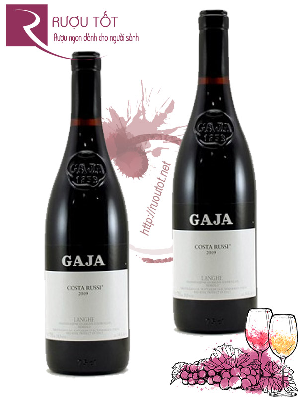 Vang ý Gaja Costa Russi Single Vineyard cao cấp