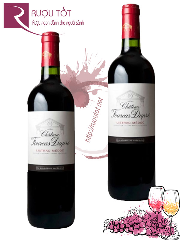 Vang Pháp Chateau Fourcas Dupre Listrac Medoc 2009