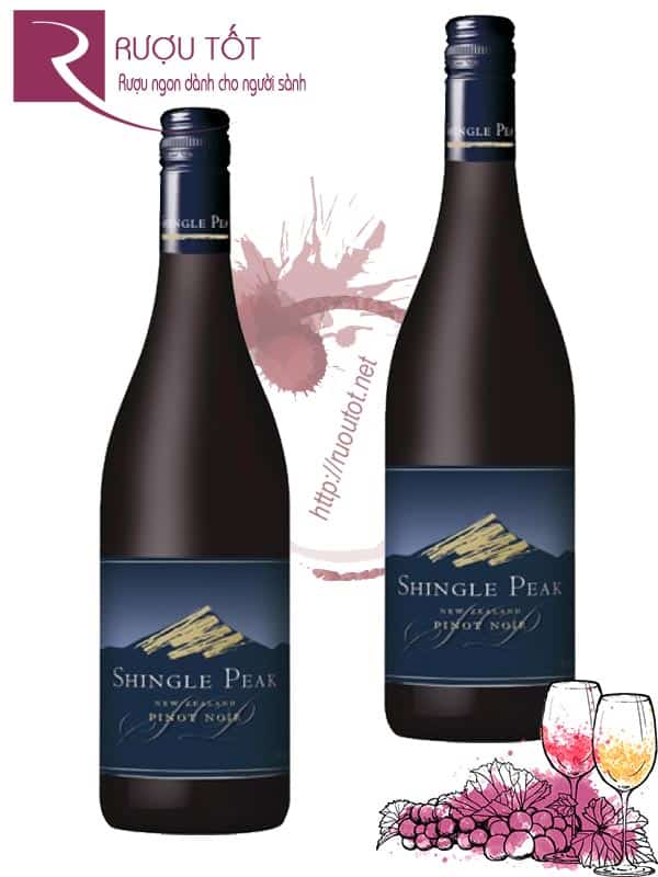 Rượu vang New Zealand Shingle Peak Pinot Noir