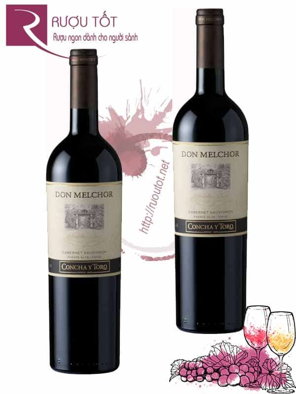 Rượu vang Chile Don Melchor 2009 & 2010