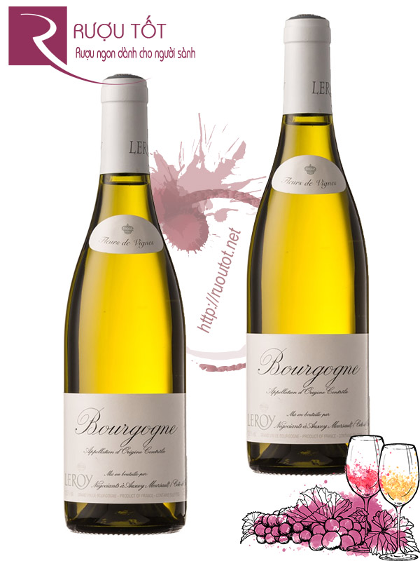 Vang Pháp Maison Leroy Bourgogne trắng Cao cấp