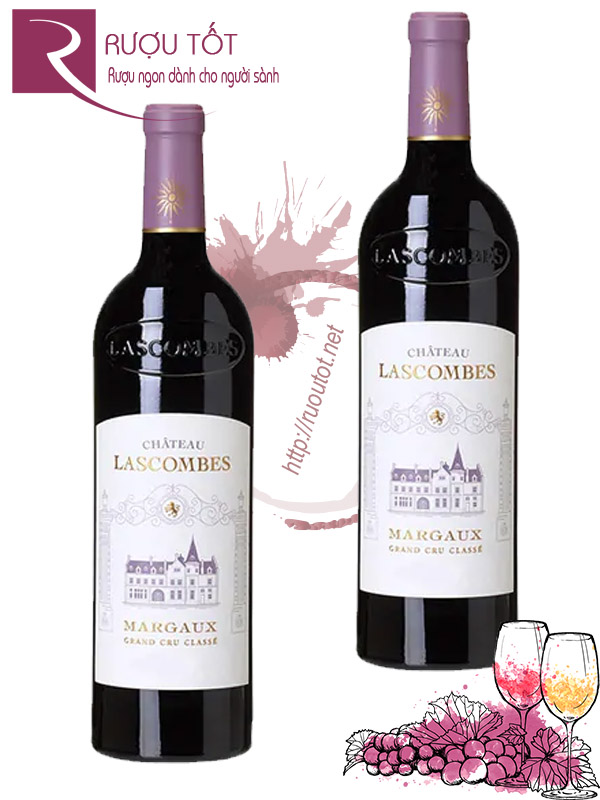 Vang Pháp Chateau Lascombes Margaux Grand Cru Cao Cấp