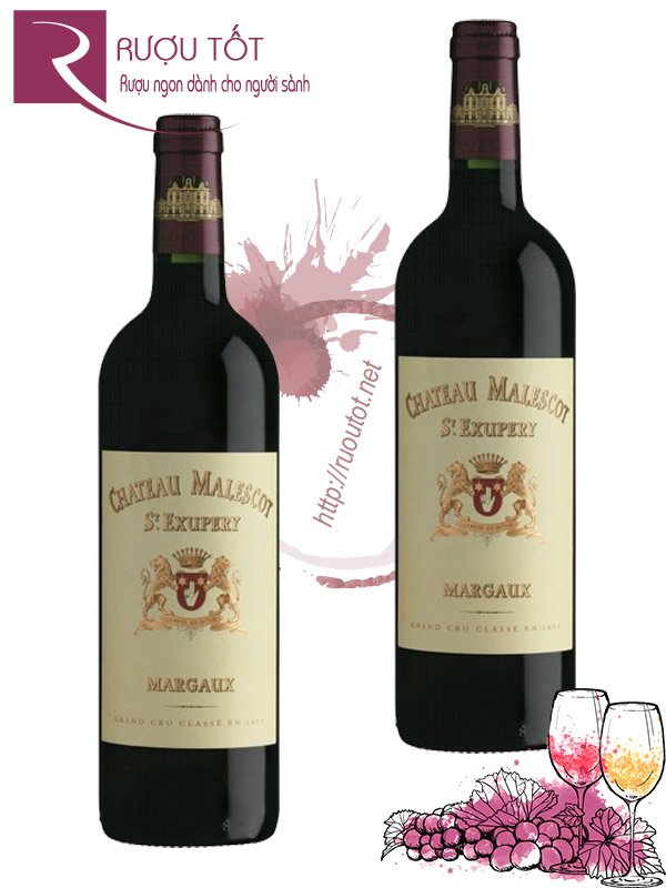 Vang Pháp Chateau Malescot St Exupery Margaux Hảo hạng