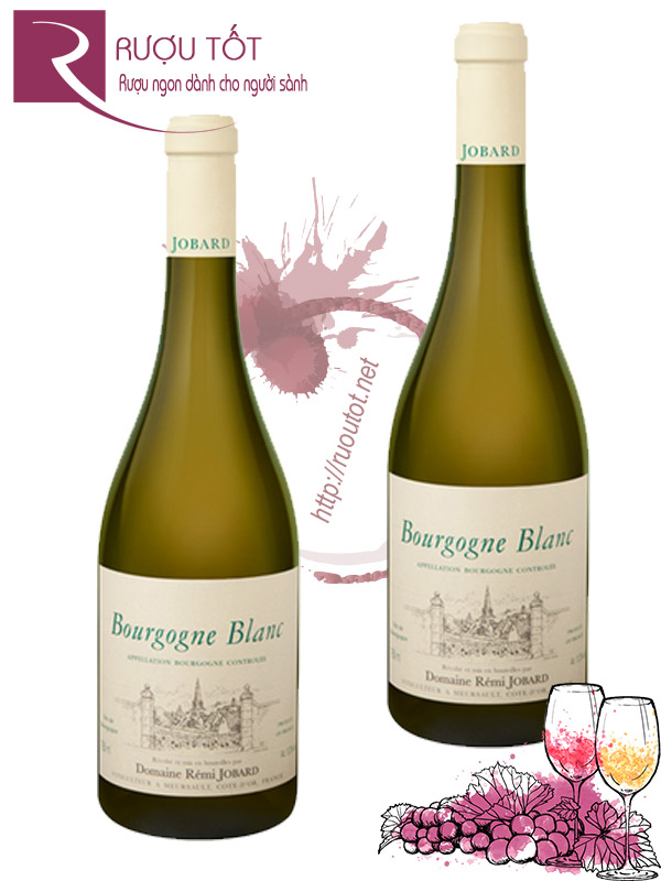 Vang Pháp Bourgogne Blanc Domaine Remi Jobard Cao cấp