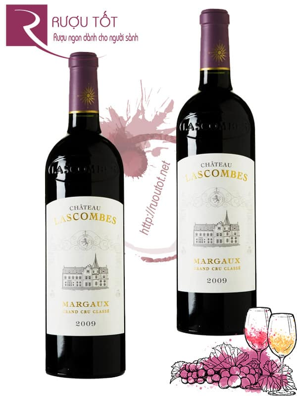 Vang Pháp Chateau Lascombes Margaux Thượng hạng