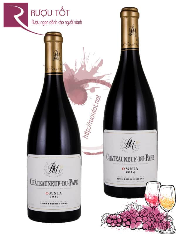 Vang Pháp Chateauneuf du Pape Omnia