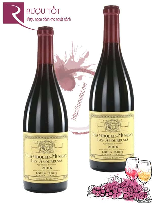 Vang Pháp Chambolle Musigny Les Amoureuses Louis Jadot 2014 Cao cấp