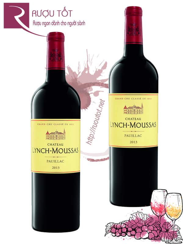 Vang Pháp Chateau Lynch Moussas 2013