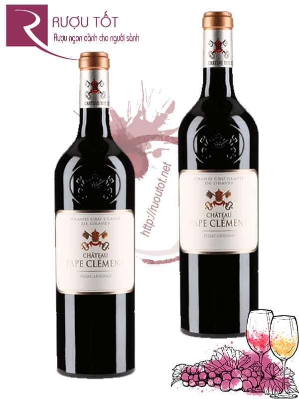 Vang Pháp Chateau Pape Clement Grand Cru Classe Cao cấp