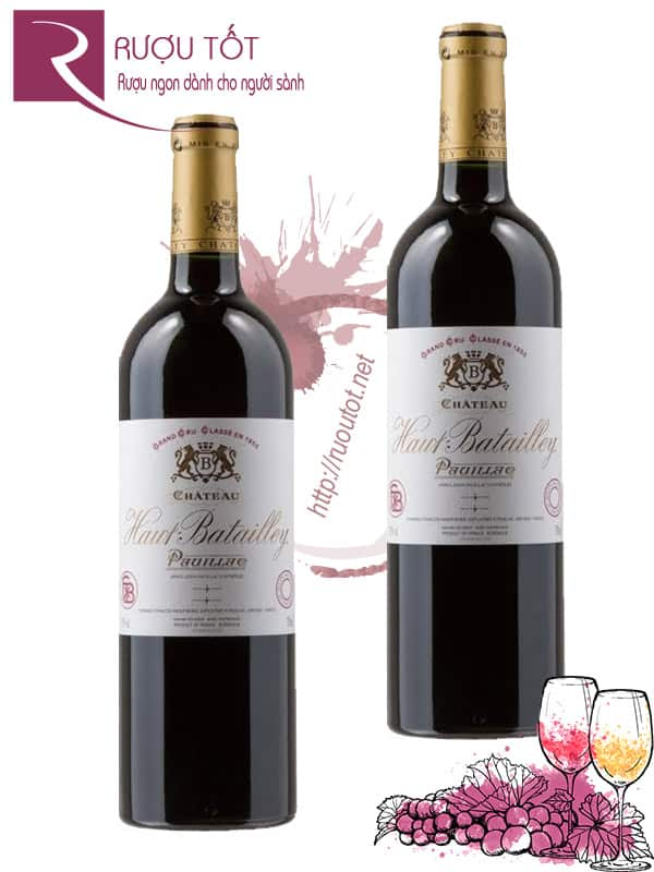 Vang Pháp Chateau Haut Batailley 2013