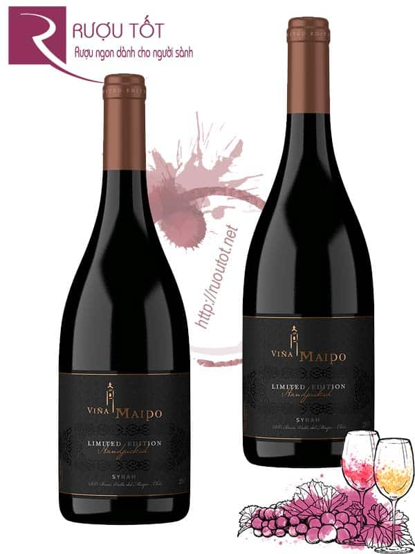 Vang Chile Vina Maipo Limited Edition Syrah