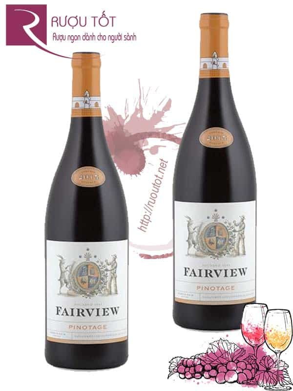 Rượu Vang Fairview Pinotage