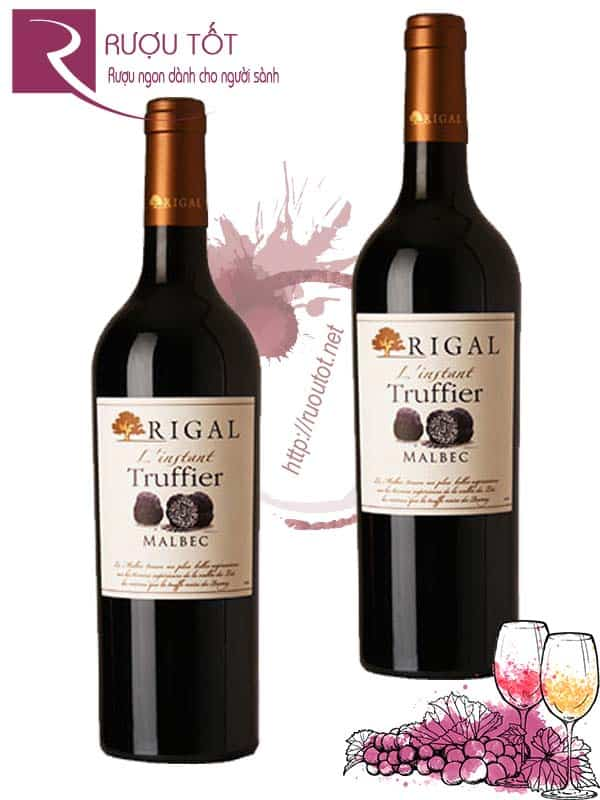 Vang Pháp Rigal L'instant Truffier Malbec