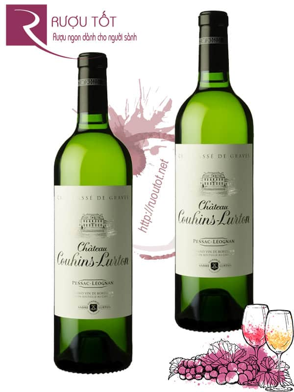 Vang Pháp Chateau Couhins Lurton white 2010