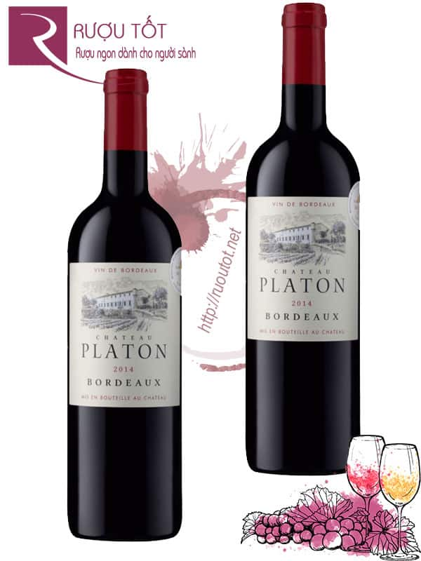 Vang Pháp Platon Chateau Bordeaux Red
