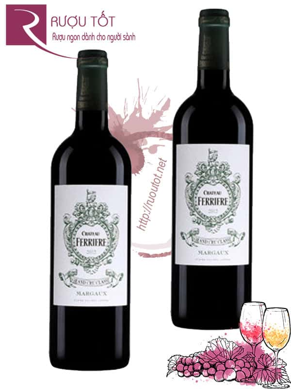 Vang Pháp Chateau Ferriere Margaux Grand Cru Classe Cao cấp