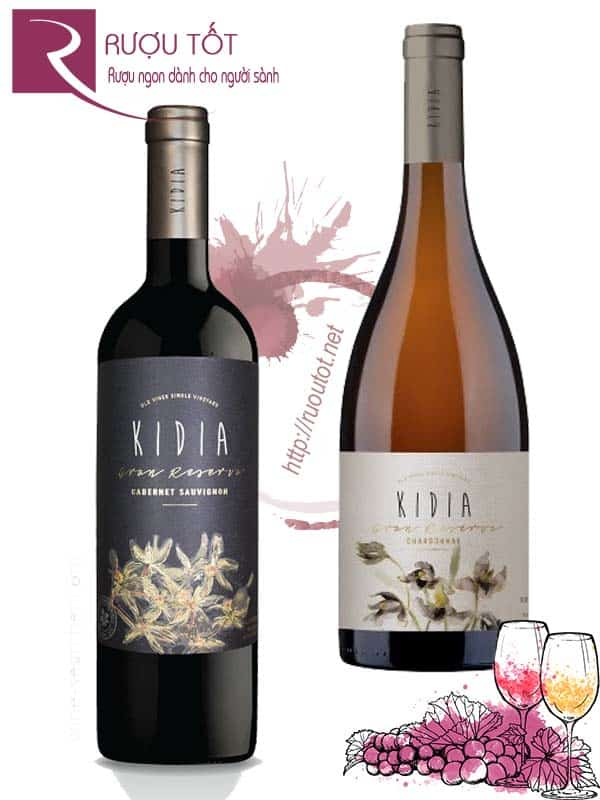 Vang Chile KIDIA Gran Reserva (Red – White)