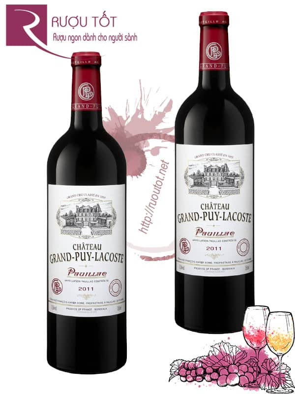 Vang Pháp Chateau Grand Puy Lacoste 5th Grand Cru Classe Pauillac