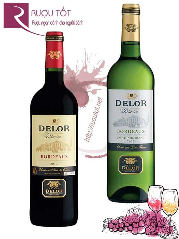 Vang Pháp Delor Reserve Bordeaux (Red – White)