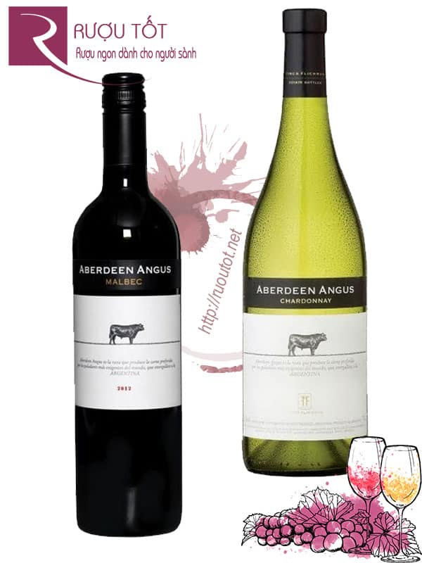 Vang Argentina Angus Aberdeen (Red – White) Thượng hạng
