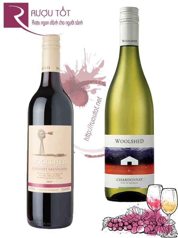 Rượu Vang Woolshed (Red – White) Cabernet Sauvignon