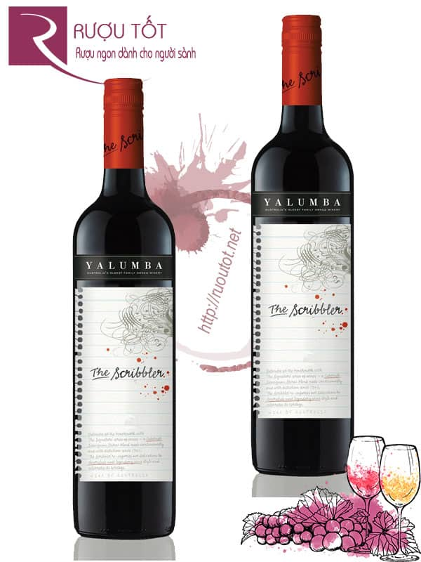 Vang Úc Yalumba The Scribbler Cabernet Shiraz