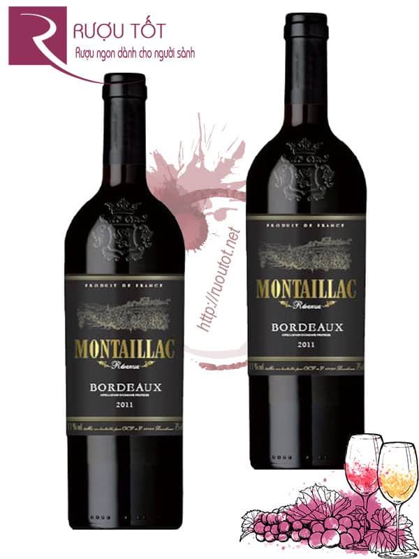 Vang Pháp Montaillac Reserve Bordeaux Thượng hạng