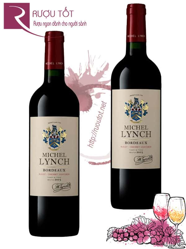 Vang Pháp Michel Lynch Bordeaux Red