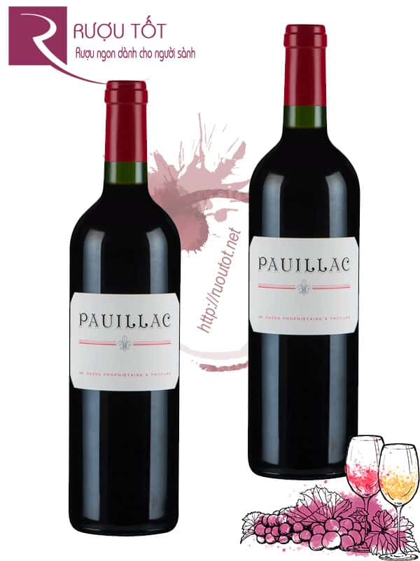 Vang Pháp Pauillac de Lynch Bages